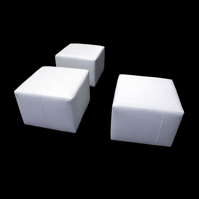 RENTAL SIDE BY SIDE LOUNGE OTTOMAN RENTALS - Miami - Fort Lauderdale and South Florida